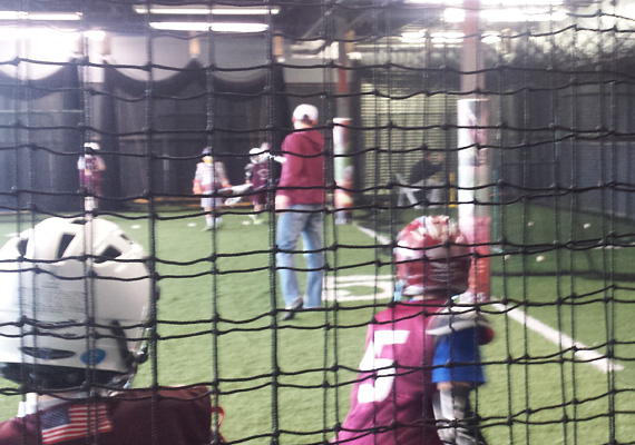 3 retractable Batting Cages