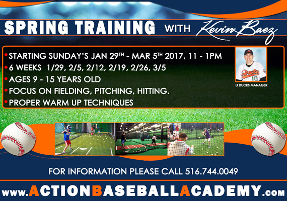 Spring Training Call Now!